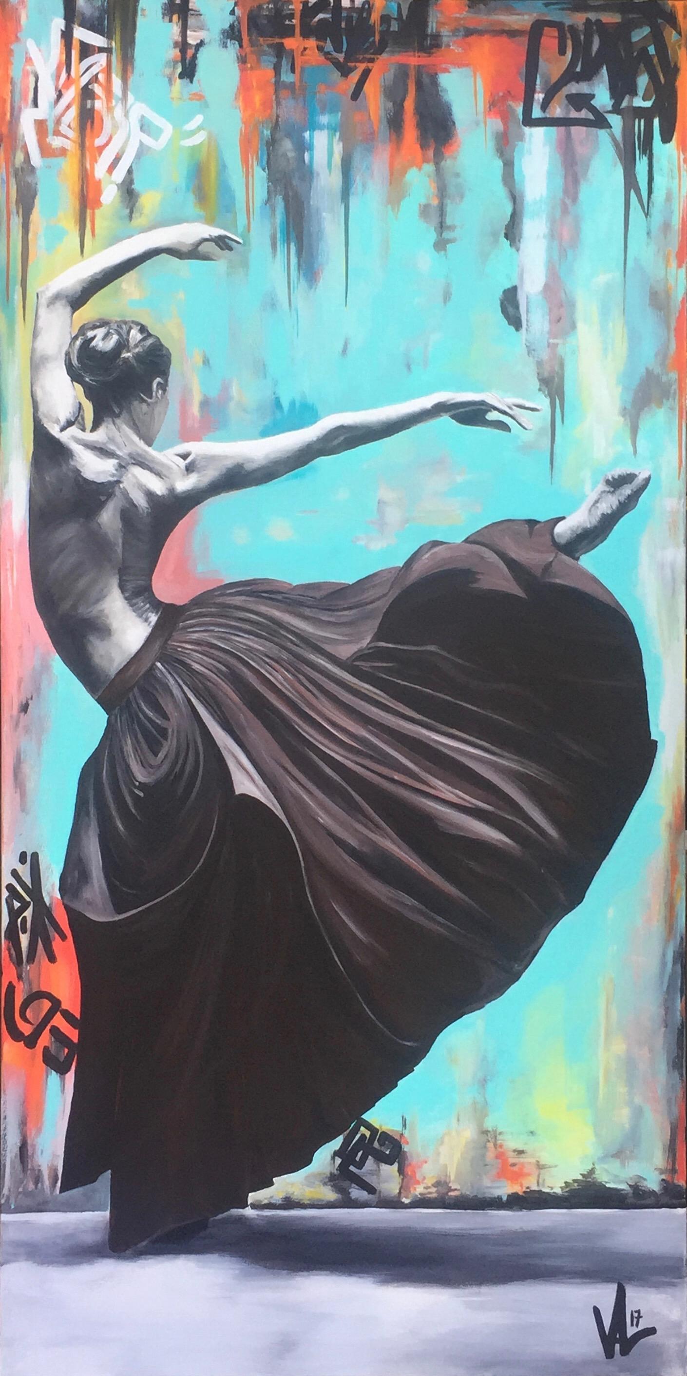 La danseuse au plissé