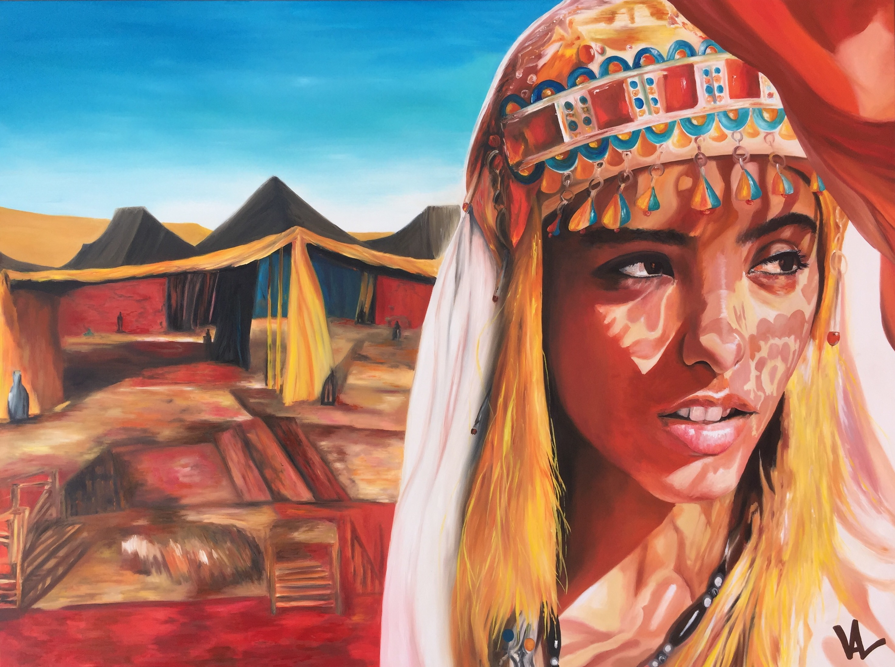Anya, fleur du désert
